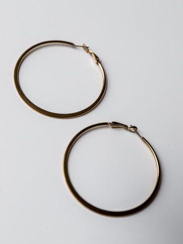 Boucles d'oreilles Elyna-Doré-large