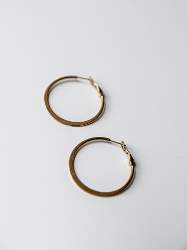 Boucles d'oreilles Elyna-doré-small