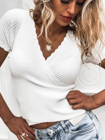 Blouse Anissa - Blanc